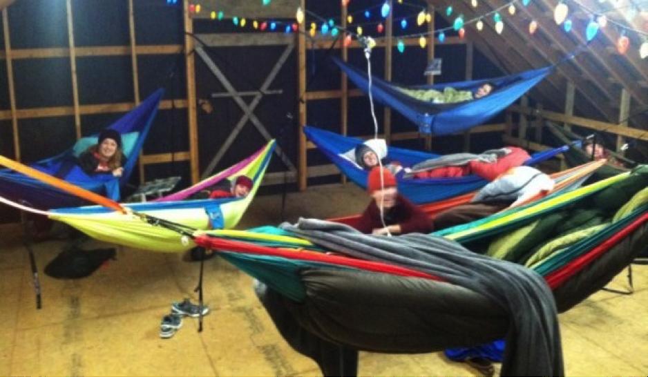 Pictures Of How To Hang An Indoor Hammock Kidskunstinfo